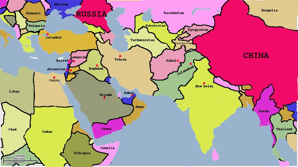 Fun with maps understanding how iran sees the world newsburglar gumiabroncs Gallery