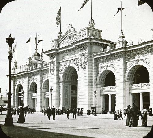 Chicago World's Columbian Exposition in 1893 Mining Building