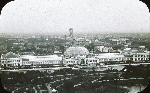 Chicago World's Columbian Exposition in 1893 Horticultural Building